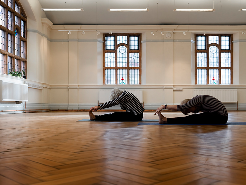 yoga at Carnegie Community Hub
