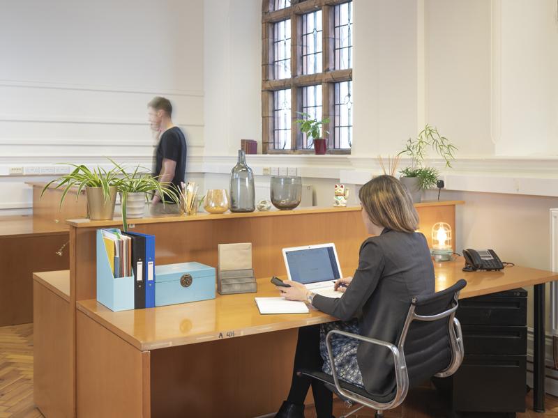 Carnegie Library workspace